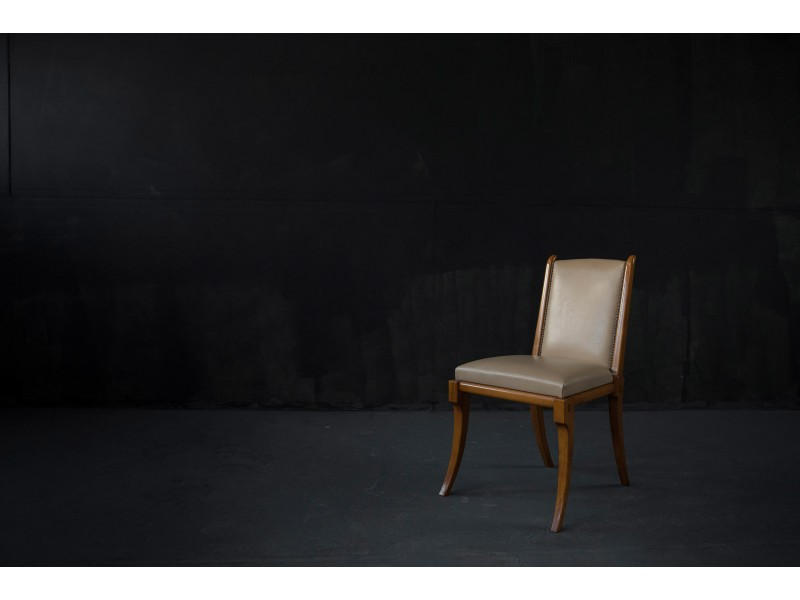 klismos Leather chair