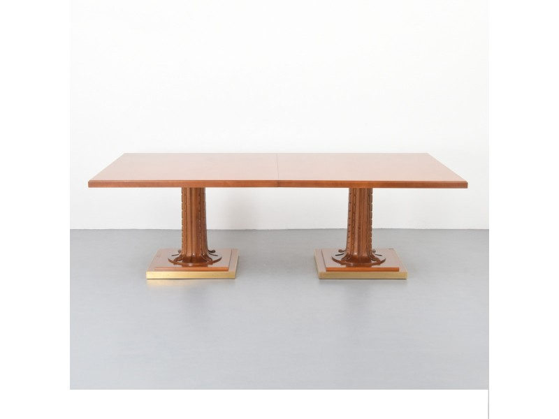 Ancient Greek Dining Table With Two Columns Ionics