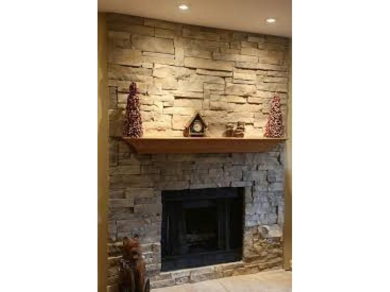 Wooden Fireplace Mantel No10