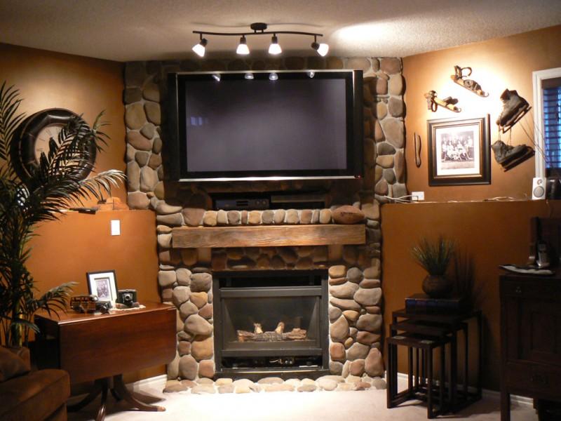 Wooden Fireplace Mantel No11