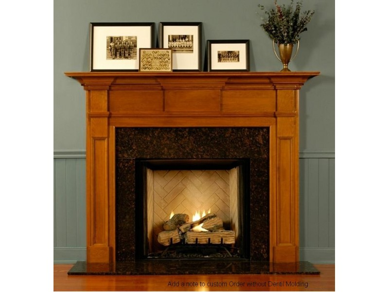 Wooden Fireplace Mantel No7