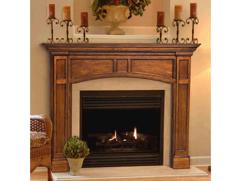 Wooden Fireplace Mantel No8
